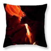 Antelope Canyon #3 Throw Pillow