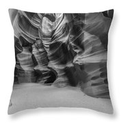 Antelope Canyon Abstract Throw Pillow