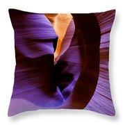 Antelope Canyon Eight Throw Pillow