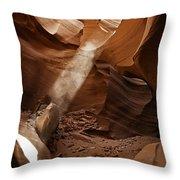 Antelope Canyon Six Natural Throw Pillow