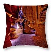 Antelope Canyon Thirteen Throw Pillow