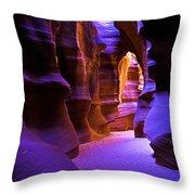 Antelope Canyon Three Throw Pillow