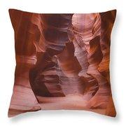 Antelope Canyon Utah Throw Pillow