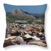 Antequera Malaga Andalusia Spain Throw Pillow