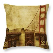 Anterior Treks Throw Pillow
