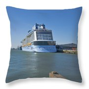 Anthem Of The Seas Southampton Throw Pillow