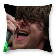 Anthony Green Of Circa Survive Throw Pillow
