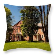 Anthony Hall - Storer College Throw Pillow