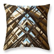Anthony Skylights Throw Pillow