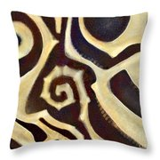 Anthropological Throw Pillow