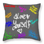 Anti Depression Throw Pillow