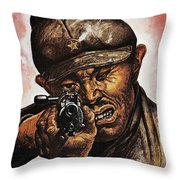 Anti-japanese Poster, 1942 Throw Pillow