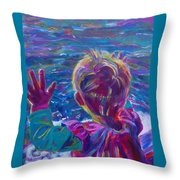 Anticipation Or Are We There Yet? Throw Pillow