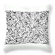 Anticipative Throw Pillow
