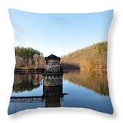 Antietam Creek Throw Pillow