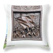 Antietam Irish Brigade Throw Pillow