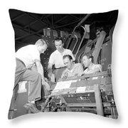 Antineutron Discovery Team, 1956 Throw Pillow
