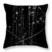 Antiproton-proton Collision, Bubble Throw Pillow
