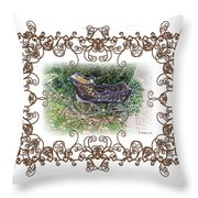 Antique Baby Carriage Throw Pillow