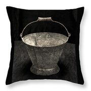 Antique Bucket For Your Modern List Throw Pillow