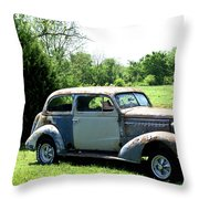 Antique Car 1 Throw Pillow