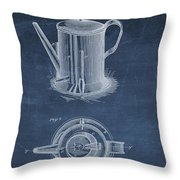 Antique Coffee Pot Patent Throw Pillow