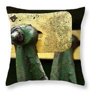 Antique Combine Throw Pillow