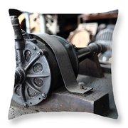 Antique Electric Throw Pillow