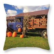 Antique Farm Truck And Pumpkins Photograph By John Burk