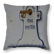 Antique Founain Throw Pillow