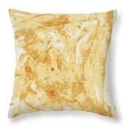 Antique Gold Throw Pillow