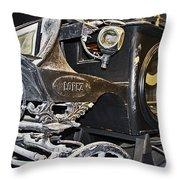 Antique Hearse Throw Pillow