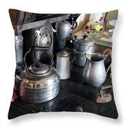 Antique Kitchen Stove Throw Pillow