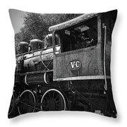 Antique Loco Throw Pillow