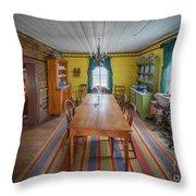 Antique Lounge Throw Pillow
