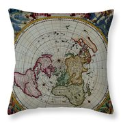 Antique Map Vintage Very Stylish Piece Throw Pillow