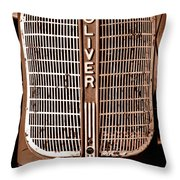 Antique Oliver 70 Throw Pillow
