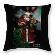 Antique Ornament 2 Throw Pillow