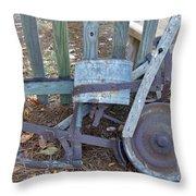 Antique Planter Throw Pillow