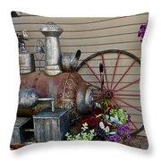 Antique Replica Throw Pillow