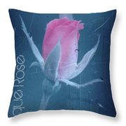 Antique Rose 3 Throw Pillow