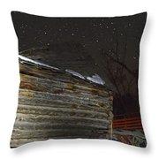 Antique Stars  Throw Pillow