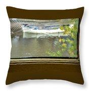 Antique Window - Amsterdam Throw Pillow