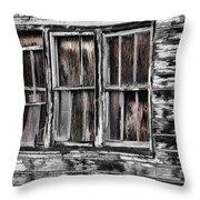 Antique Windows Throw Pillow
