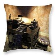 Antiques In Atlantis 1 Throw Pillow