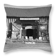 Antiques Throw Pillow