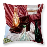 Antiques Velore Throw Pillow
