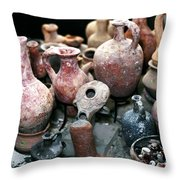 Antiquities Old City Jerusalem Throw Pillow