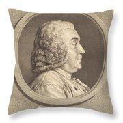 Antoine De Parcieux Throw Pillow