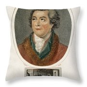 Antoine-laurent Lavoisier, French Throw Pillow